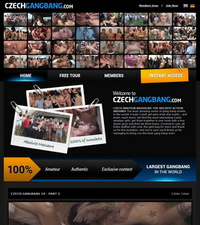 Czech Gangbang Review