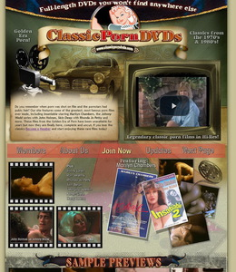 Classic Porn DVDs